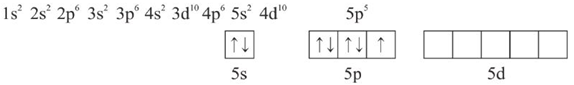 konfigurasi elektron ICl3