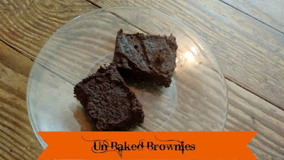 Un Baked Brownies