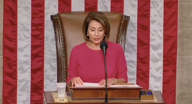 'The existential threat of our time': Pelosi elevates climate change on Day One