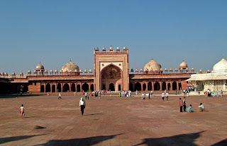 The Jama Masjid Agra