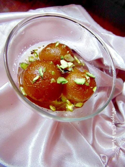 khoa gulab jamun recipe