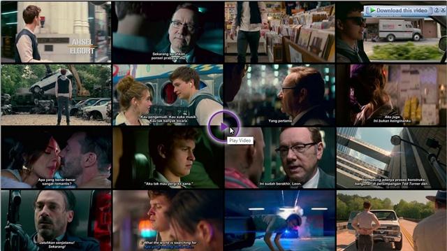 Screenshots Download Film Gratis Baby Driver (2017) BluRay 480p MP4 Subtitle Indonesia 3GP Nonton Free Full Movie Streaming