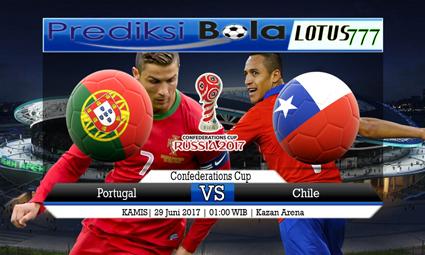 Prediksi Pertandingan antara Portugal vs Chile Tanggal 29 Juni 2017