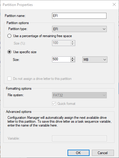 SCCM Task Sequence GUI - How to set up the TS to work with a GUI