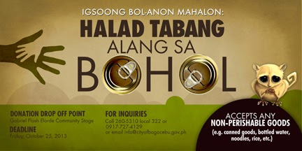 Bohol Earthquake Relief Operation - City of Bogo LGU