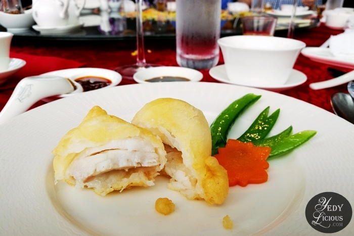 Pan-Fried Grouper Fillet Lung Hin, Marco Polo Ortigas Manila: New & Classic Dishes, Exquisite Abalone, and Chinese Lunar New Year Celebration, Lung Hin Restaurant Review Marco Polo   Manila, Best Chinese Restaurant in Manila, Marco Polo Blog Review Website Rate Price Facebook Twitter Instagram YedyLicious Manila Food Blog