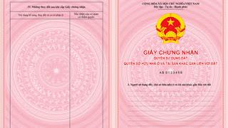 sổ hồng là giấy chứng nhận quyền sở hữu nhà ở