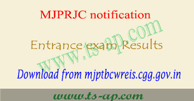 Mjptbcwreis results 2020-2021 Inter degree, tsmjbc rjc rdc cet counselling