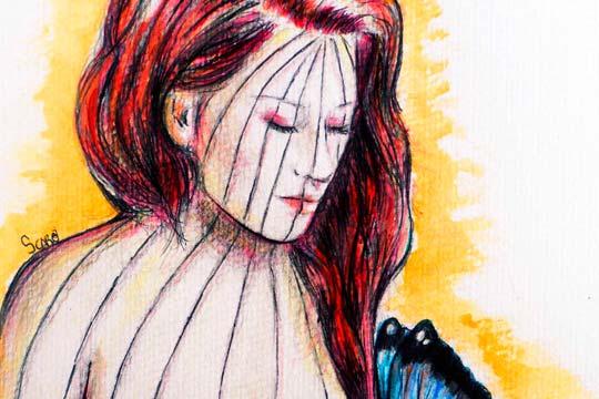Ilustración, Éxodo de Sara Caro