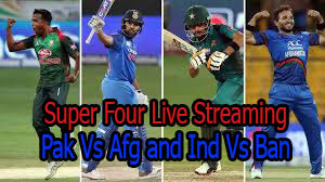 Pak Vs Afg live streaming super 4