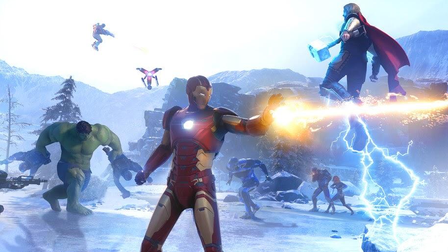 Marvels Avengers, Iron Man, 4K, #3.2315