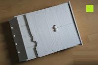 auspacken: Küchenschrank Wandschrank Hängeschrank 4 Haken 4 Schubladen 2 Glastüren Schrank