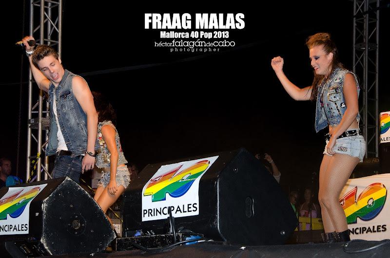 Fraag Malas en el Mallorca 40 Pop 2013. Héctor Falagán De Cabo | hfilms & photography.