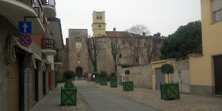 Rivalta di Torino, looking towards the castle
