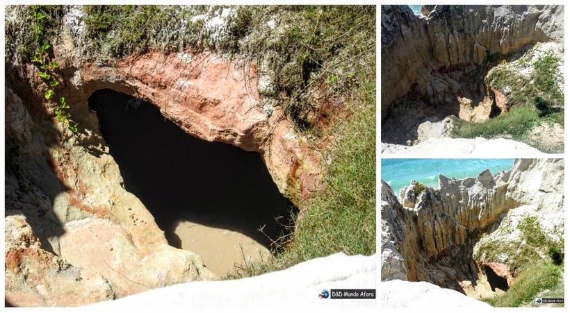 Diário de Bordo - Gruta da Mãe D'Água na Praia das Fontes, Ceará