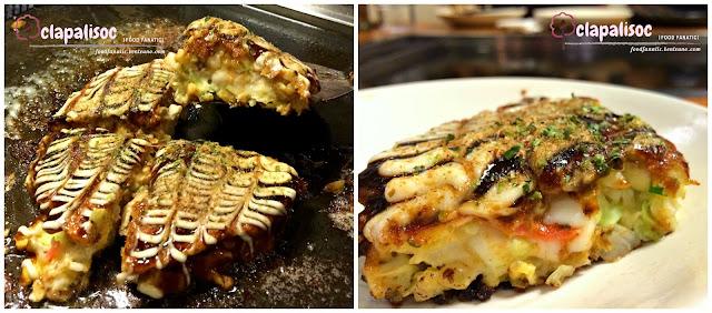 Dohtonbori Greenhills, Cheesy Pork Okonomiyaki