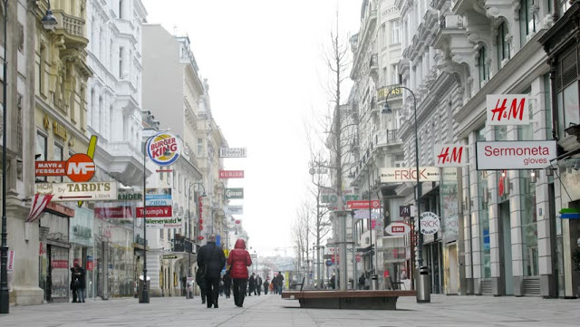 Kartner Strabe em Viena