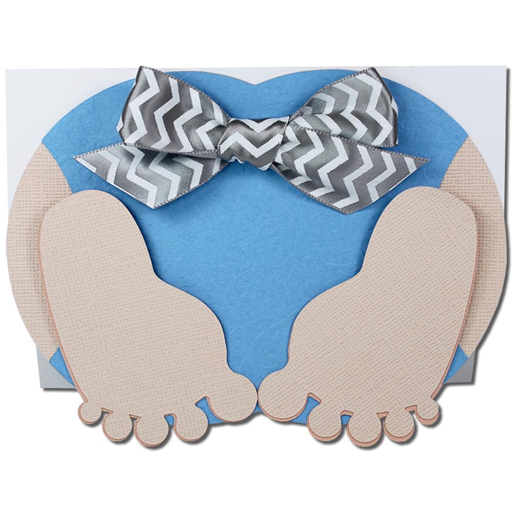 JMRush Designs: Crawling Baby Boy Bottom Card