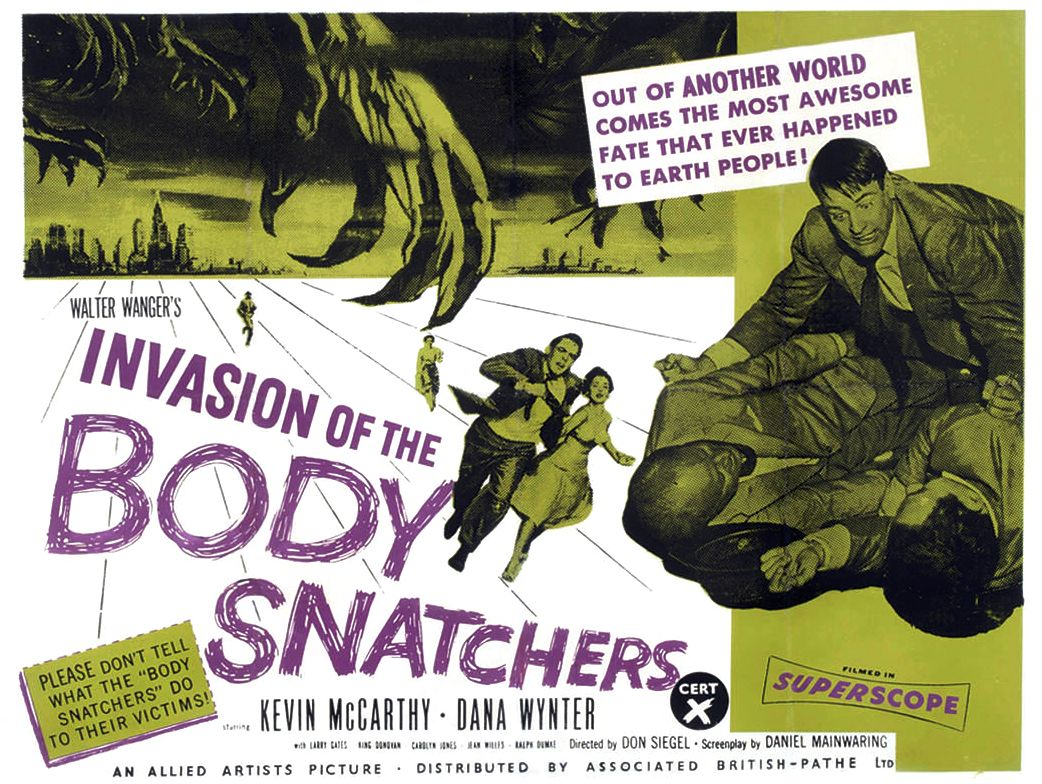 Just Screenshots: Invasion of the Body Snatchers (1956)