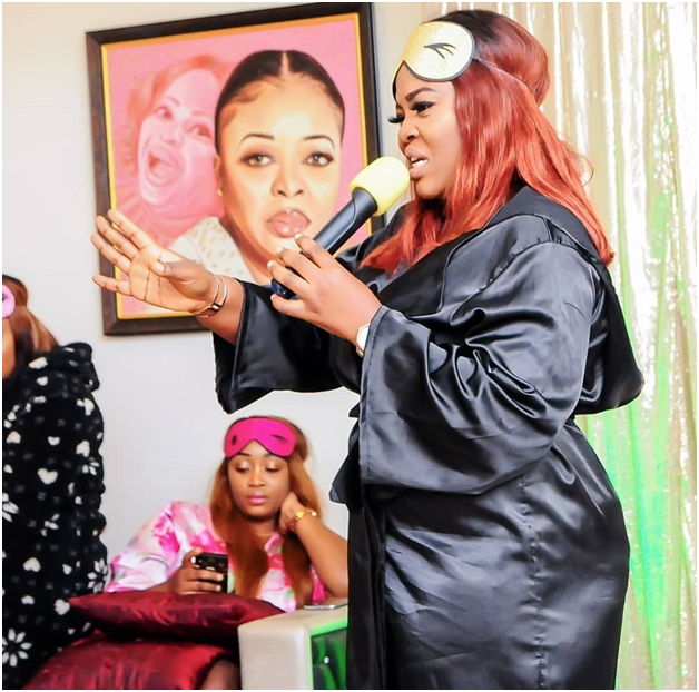 Image result for Photos From Dayo Amusa's Pajamas Themed Birthday Party