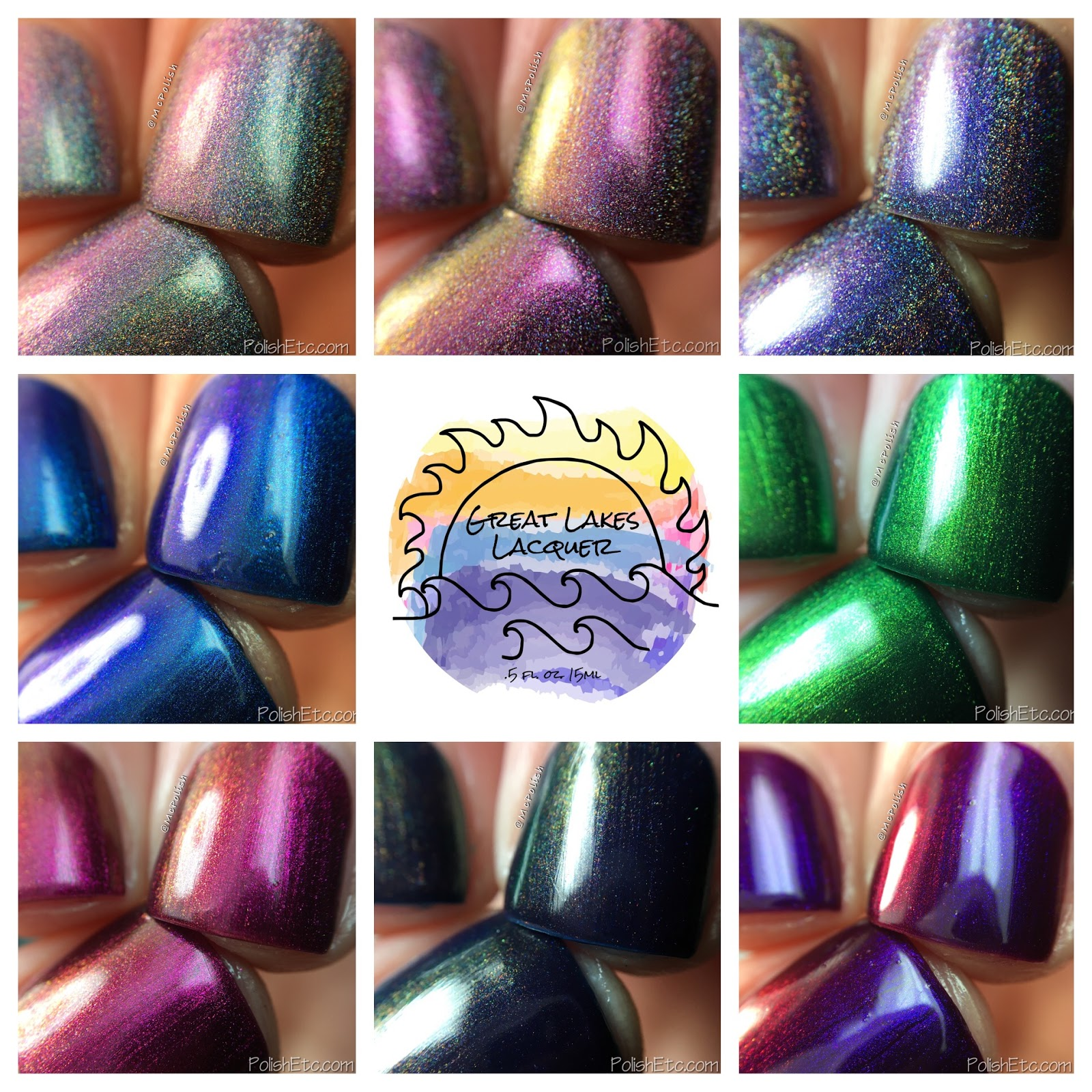 Great Lakes Lacquer - Polishing Poetic Collection - McPolish