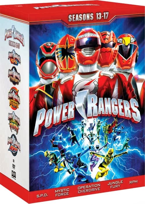 DVD Review - Power Rangers: Seasons 13-17