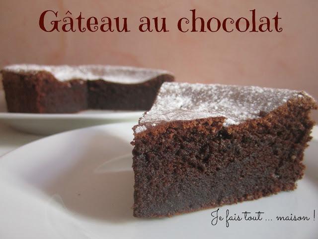 Gateau chocolat mousseux Christophe Felder