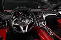 2016 New Honda NSX Supercar performance interior