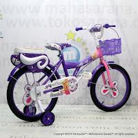 Sepeda Anak Erminio 2208 Butterfly 18 Inci