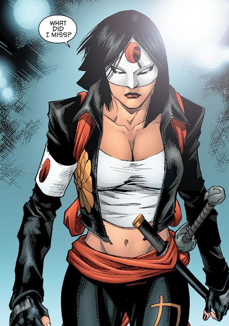 Eroi giapponesi Marvel DC