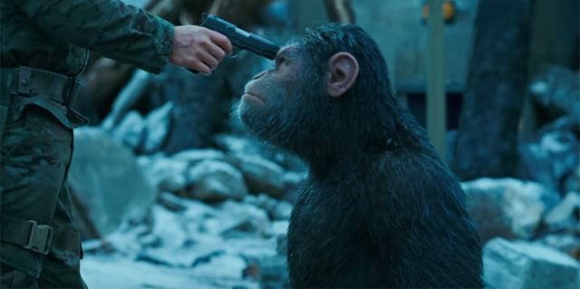 映画 War of the Planet of the Apes
