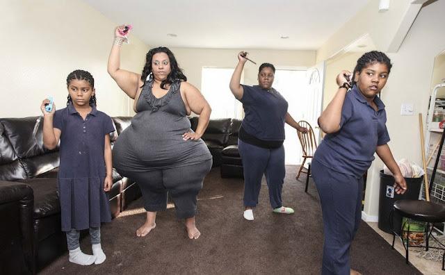 La mujer con las caderas más grandes del mundo