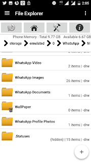 how to save the whatsapp status video