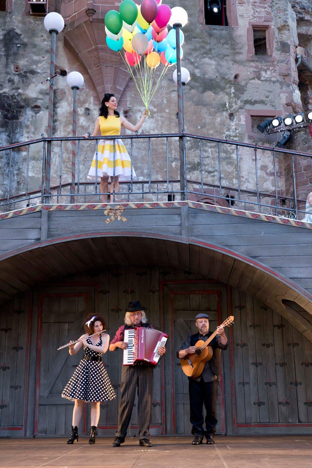 Der Diener zweier Herren von Goldoni bei den Heidelberger Schlossfestspielen