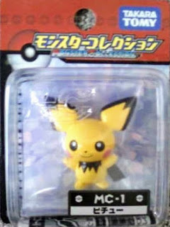 Pichu figure renewal Takara Tomy Monster Collection MC series