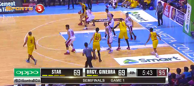 Star Hotshots def. Ginebra, 78-74 (REPLAY VIDEO) Semis Game 1 / February 9