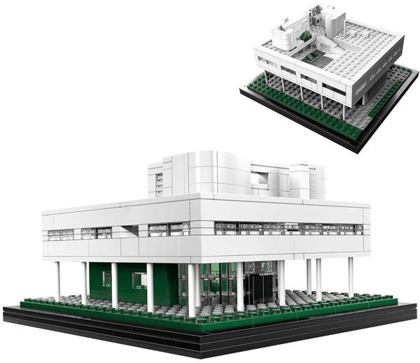 arqetc La Villa Saboya y LEGO