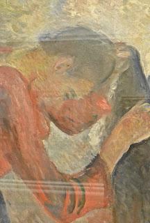 Kunsmuseet de bergen Kode 3 Edvard Munch : femme se coiffant 1892