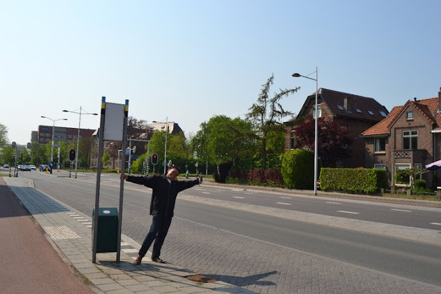Suasana jalan di Wageningen