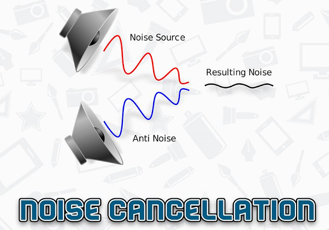 يعنى ايه Noise Cancellation الموجودة فى سماعات الهاند فرى