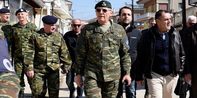 Στον Έβρο Τετάρτη 25 Μαρτίου ο Παναγιωτόπουλος και ο Α/ΓΕΕΘΑ