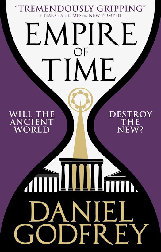Cover Revealed: Empire of Time by Daniel Godfrey