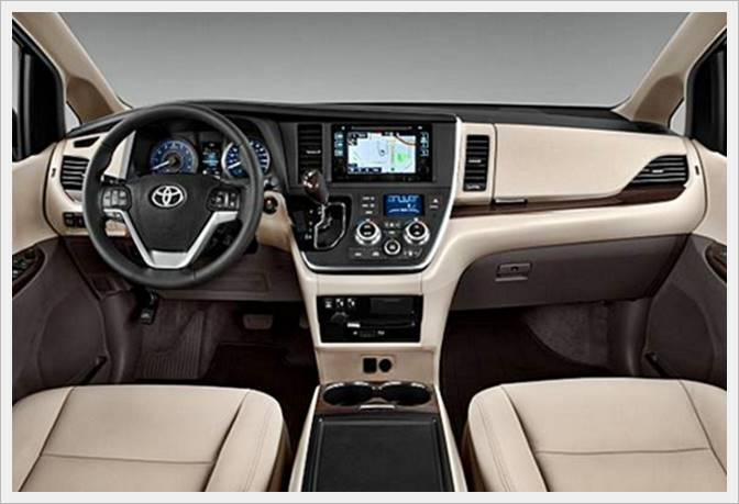 2017 Toyota Sienna Interior Canada | TOYOTA UPDATE REVIEW