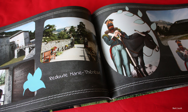 intérieur du livre photo