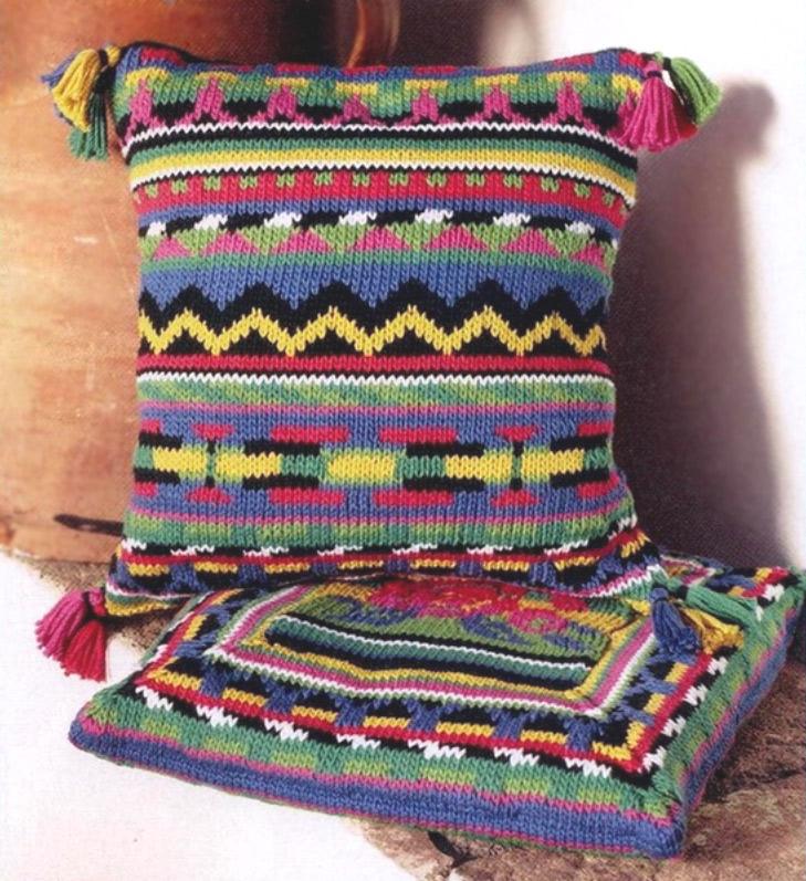 Разноцветные наволочки для подушек