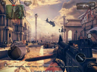 Download Modern Combat 5: Black Out v2.0.1b Mod Apk+Data OBB Versi Terbaru Android