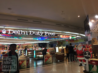 Delhi International Airport carries Indian Coffee and Tea