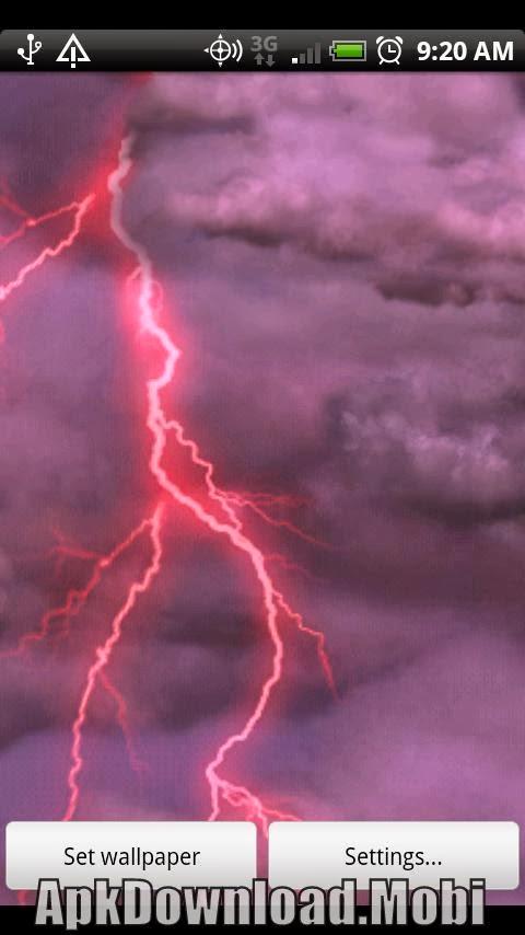 Thunderstorm Live Wallpaper 2.2 APK Download