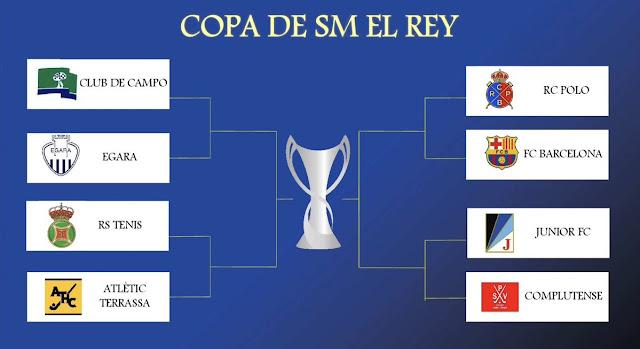 HOCKEY HIERBA - Copa del Rey 2017 (Sant Cugat del Vallés 17-19 marzo)
