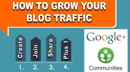 How Google+ Communities can help to Grow your Audience - By BloggingFunda